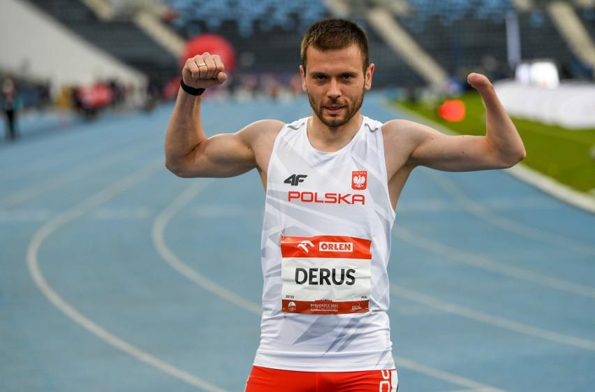Michał Derus zdobył jeden z pięciu złotych medali Polaków...