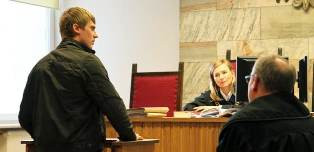 Grzegorz Zengota przyznał przed zielonogórskim sądem, że widział potrącenie kibica Falubazu przez policyjny radiowóz