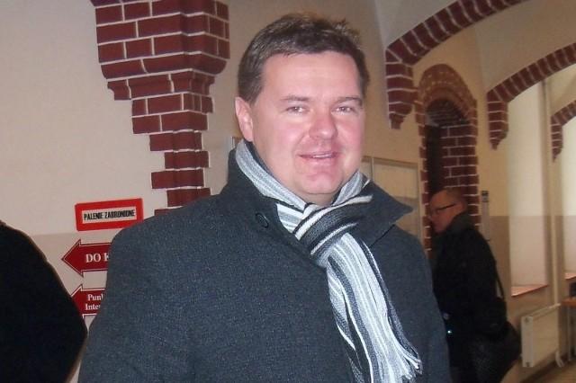Były burmistrz Paczkowa Bogdan Wyczałkowski.