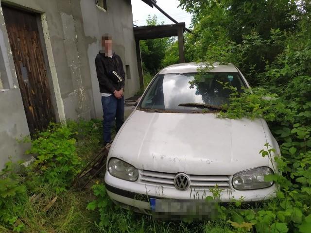 Sprawca kradzieży katalizatorów przy obrabowanych pojazdach