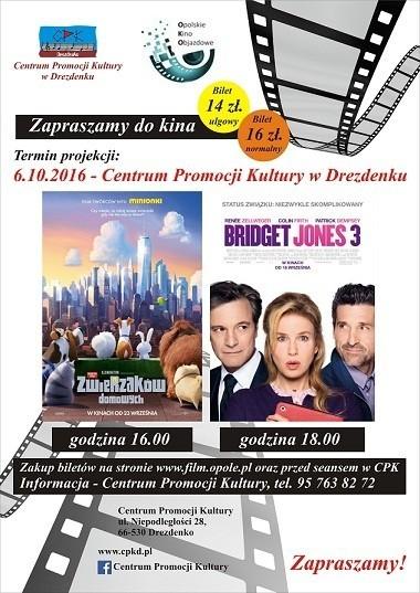 W czwartek w Centrum Promocji Kultury w Drezdenku wyświetlone będą dwa filmy.