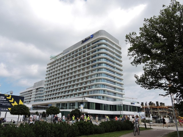 Hotel Radisson w Świnoujściu.