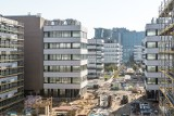 Poznań: Coraz bliżej ukończenia kompleksu biurowego Business Garden Poznań. Będzie gotowy na początku roku [ZDJĘCIA]
