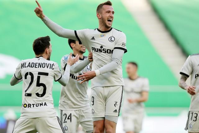 Mladenović i Pekhart strzelili w tym sezonie tyle samo goli co Pogoń