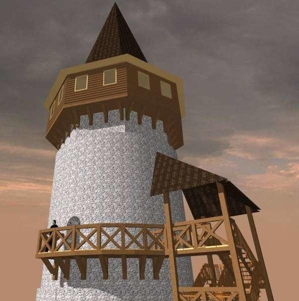Tak ma wyglądać Wieża Woka po remoncie. Projekt Andrzeja Legendziewicza