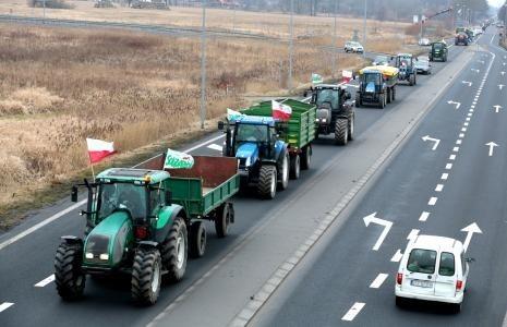 26 lutego rolnicy solidaryzujący się z protestującymi będą blokować drogi w całej Polsce.