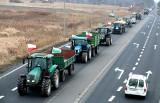 Protest rolników: W środę ciągniki zablokują drogi krajowe