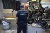 Funkcjonariusze Urzędu Celno-Skarbowego z regionu wspólnie z CBŚP zlikwidowali nielegalną fabrykę papierosów
