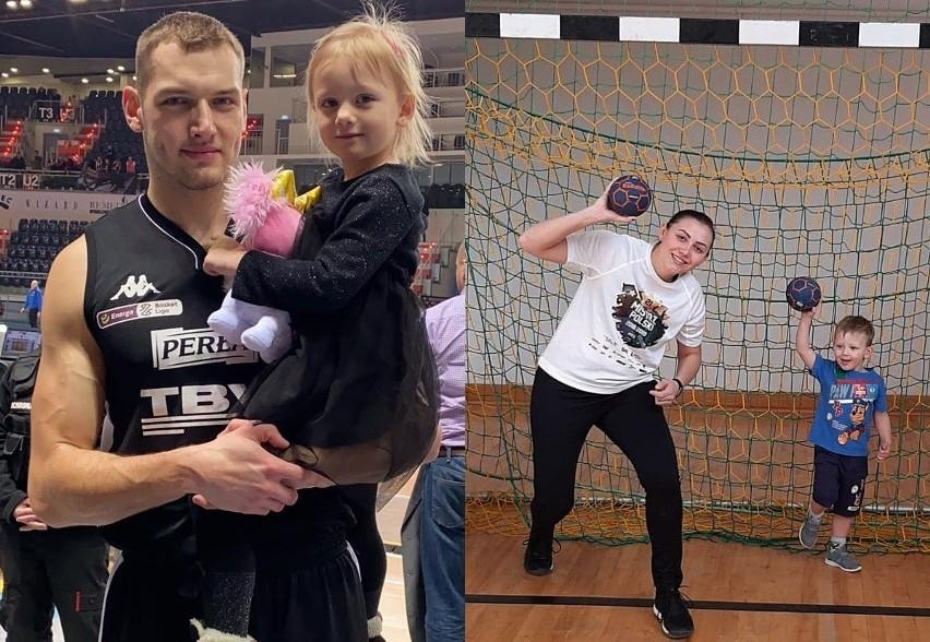 Sportowcy lubelskich klubów ze swoimi dziećmi. Zobacz zdjęcia