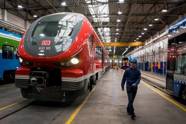 W Pesie trwa produkcja w ramach największego kontraktu na dostawy pociągów Linków dla Deutsche Bahn