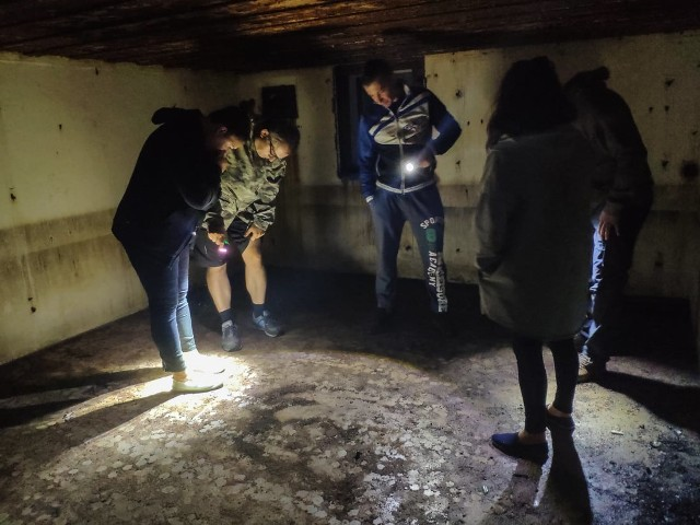 Członkowie Stowarzyszenie Regionu Cigacic zwiedzili skansen fortyfikacyjny Leśna Góra. Będzie on jednym z punktów ścieżki dydaktycznej - historyczno-przyrodniczej