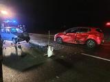 Wypadek w Chmielnikach pod Bydgoszczą. Droga jest zablokowana [zdjęcia]