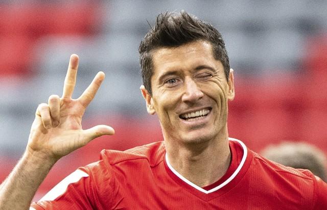 Robert Lewandowski ustrzelił hat-tricka w ostatnim meczu ligowym Bayernu Monachium