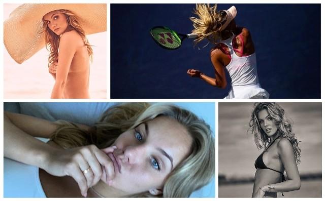 """Sofja Żuk papiery na wielkie granie miała. Dość powiedzieć, że mając 15 lat wygrała juniorski Wimbledon i zanosiło się na to, że Rosja doczeka się nowej Marii Szarapowej (w pozytywnym znaczeniu). Problemy ze zdrowiem zmusiły jednak 20-latkę z Moskwy do zmiany planów i ostatecznie zamieniła w ubiegłym roku tenisowy kort na wybieg dla modelek. Na razie mówi, że tylko na jakiś czas, bo być może jeszcze wróci do tenisa, ale... Chyba za dobrze się bawi...Uruchom galerię klikając w ikonę """"następne zdjęcie"""", strzałką w prawo na klawiaturze lub gestem na ekranie smartfonu"""