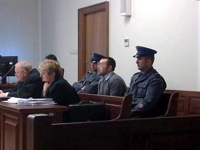 Oskarżony Jarosław O.