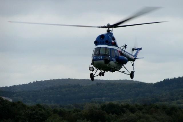 Policyjny helikopter był już wykorzystywany do ćwiczeń polsko-czeskich. W ratownictwie medycznym to jeszcze niemożliwe.