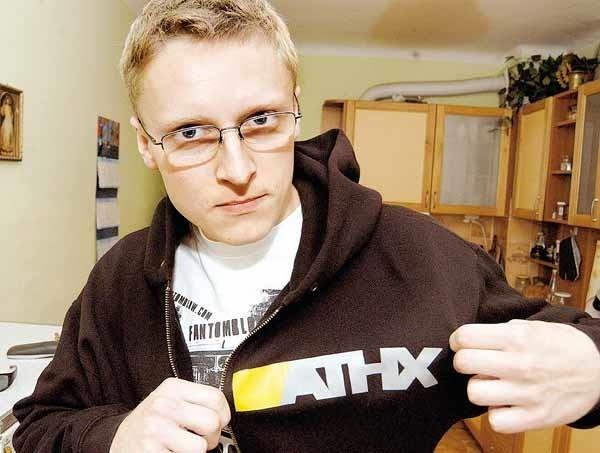 Michał Furman: - Za 11 tys. zł kupiłem sprzęt i zacząłem produkować odzież dla fanów hiphopu.
