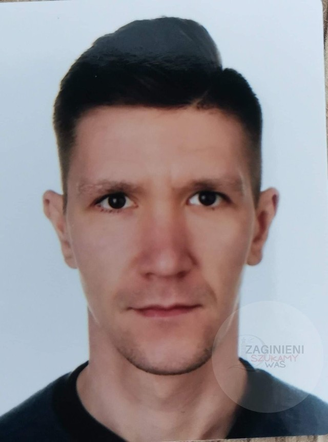 Zaginął 26-letni Damian Madajczyk.