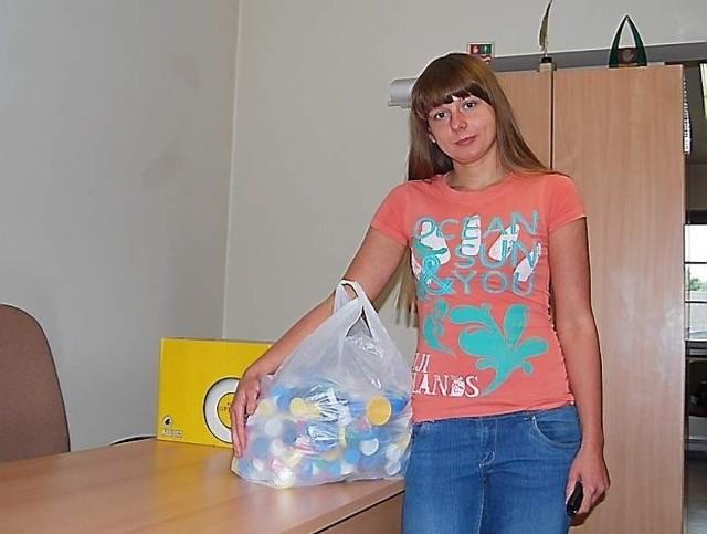 Kasia Szlufik - Będziemy zbierać dalej nakrętki dla Martynki