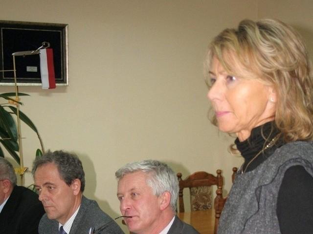 Tylko Barbara Konieczna i Grzegorz Zalewski (oboje na zdjęciu) gotowi byli wyrazić swoje poparcie dla stanowiska sejmiku o zakazie upraw GMO w naszym województwie
