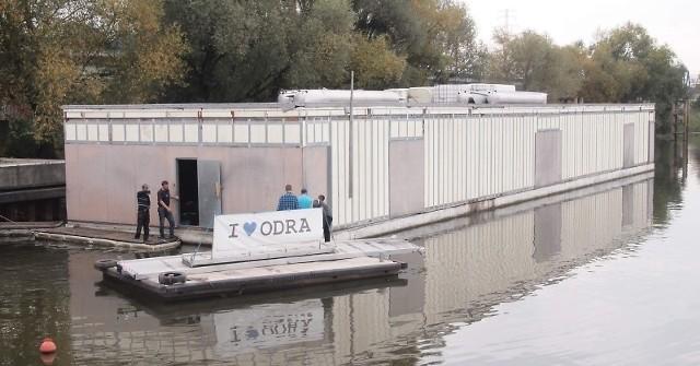 Trwa budowa muzeum Odry.