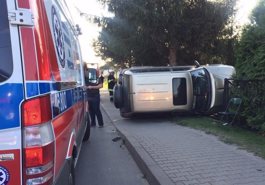 Wypadek na drodze Wrocław - Jelcz-Laskowice