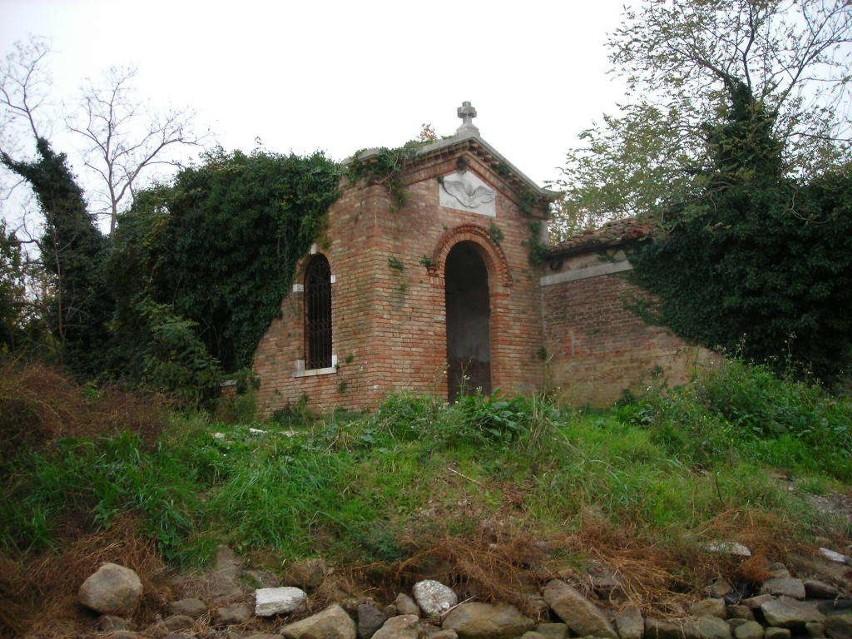 Niewielka, opuszczona wysepka w pobliżu Wenecji skrywa...