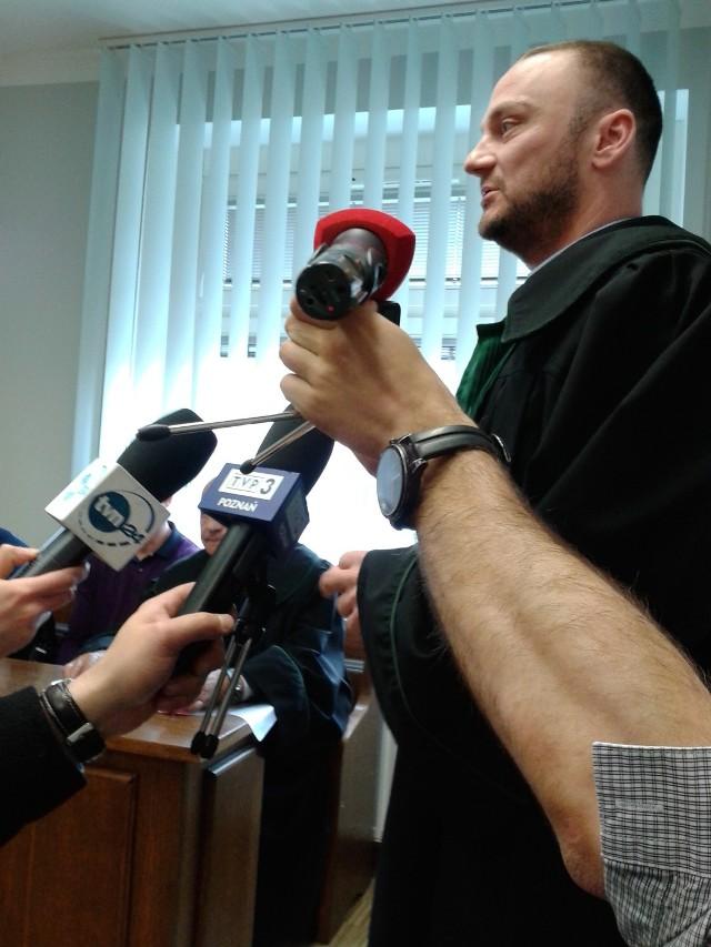 Adwokat Marcin Stefaniak: - Może jest jakiś związek mojego klienta z tą sprawą, ale nie taki jak w akcie oskarżenia...