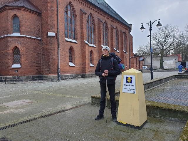 Grzegorz Stenka z Ustki wyruszył 8 kwietnia rano