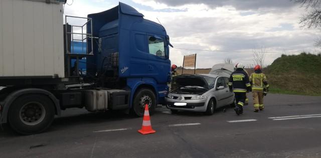 W wyniku zderzenia w Płochocinku ranne zostały cztery osoby