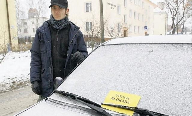 Rafał Baczyński-Sielaczek jest oburzony. Dostał punkt karny