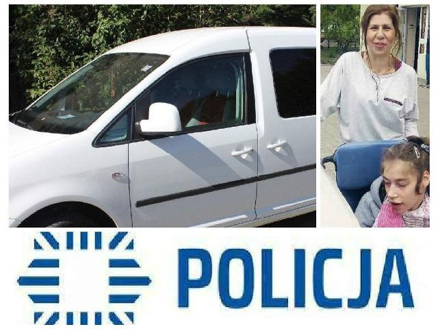 Tak wyglądał skradziony volkswagen caddy, którym Wioletta Baran woziła na rehabilitację niepełnosprawną córkę