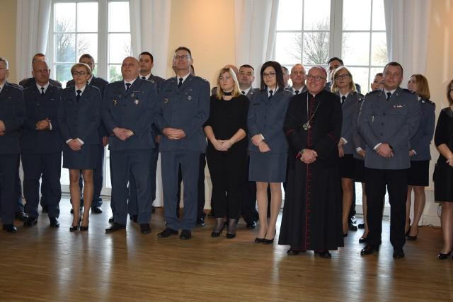 Spotkanie opłatkowe służb mundurowych w Ostrołęce, 18.12.2019
