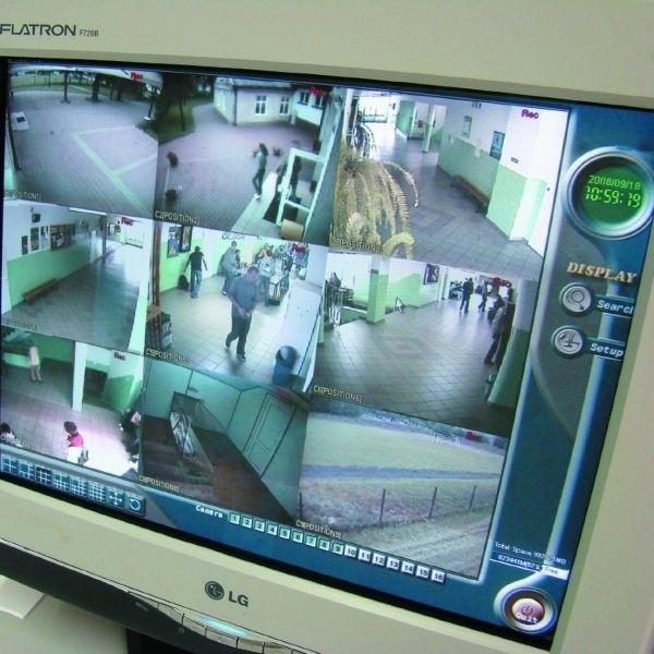 Dziewięć kamer śledzi i pilnuje 650 uczniów części zawodowej ZSOiZ, ma być bezpieczniej - w obrębie samej szkoły
