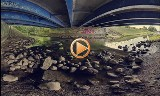 Siemiatycze. Rzeka Kamionka - panorama 360