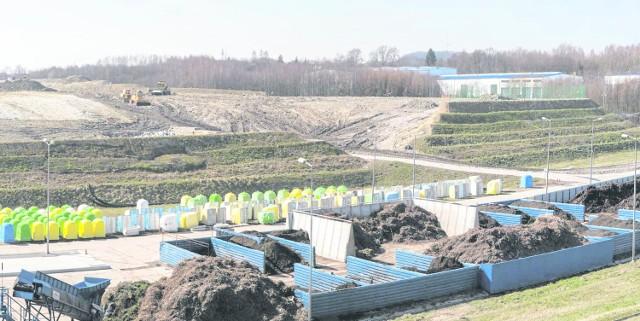 """Obecnie eksplatowana """"Barycz""""(III etap) zamuje obszar liczący ok. 11 hektarów"""