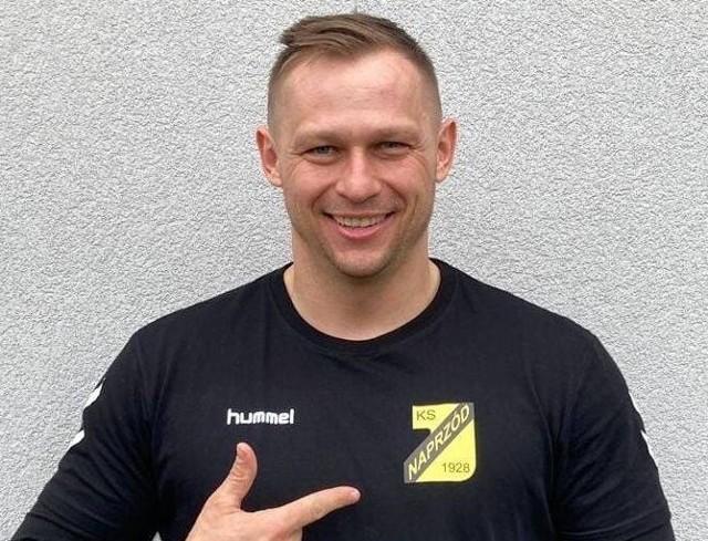Tomasz Puchrowicz jest mocnym punktem Naprzodu Jędrzejów.