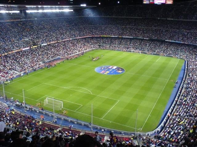 Mecz FC Barcelona - AC Milan. Transmisja online. Stadion Camp Nou