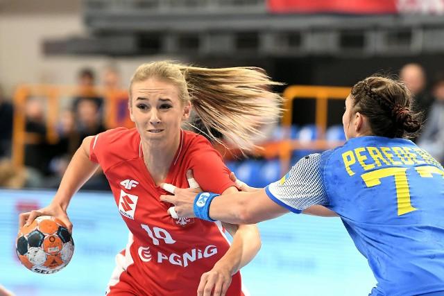 Magda Więckowska podczas turnieju w Lublinie.