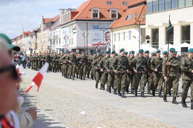3 maja 2019 roku Białystok. Uroczystości w 228. rocznicę uchwalenia Konstytucji 3 Maja