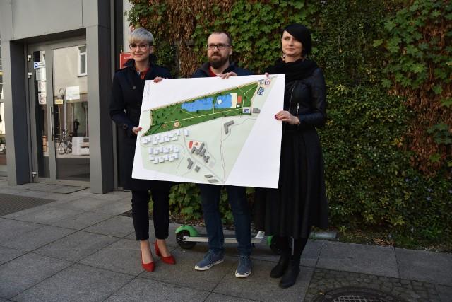 Przedstawiciele rady osiedla i UM zaprezentowali elementy koncepcji Zielonej Karty