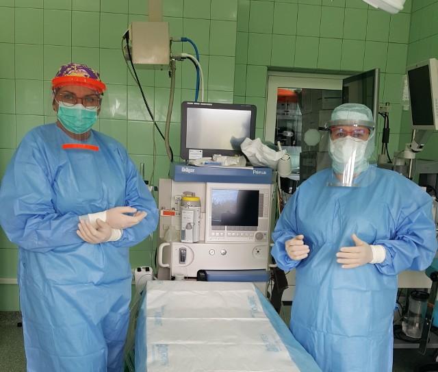 Masz planowy zabieg? Na oddziale chirurgii na pacjentów czeka ordynator lek. Agata Cieśla i Sylwia Spychała kierownik bloku operacyjnego