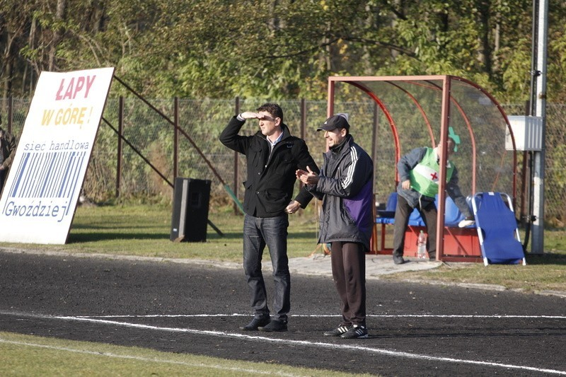 Mirosław Dymek (z lewej) rozgląda się za pracą, także za granicą