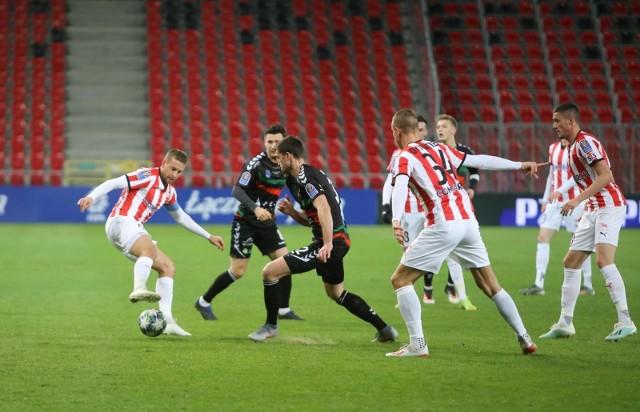 Ostatni mecz Cracovia rozegrała 10 marca, ćwierćfinał Pucharu Polski z GKS Tychy
