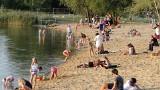 Plaże Bagry pełne słońca jak w wakacje. Tu można miło spędzić czas nad wodą w Krakowie ZDJĘCIA 14.09