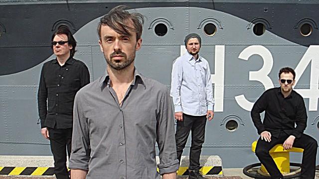 Piotr Pawłowski (pierwszy z lewej) z kolegami - The Shipyard