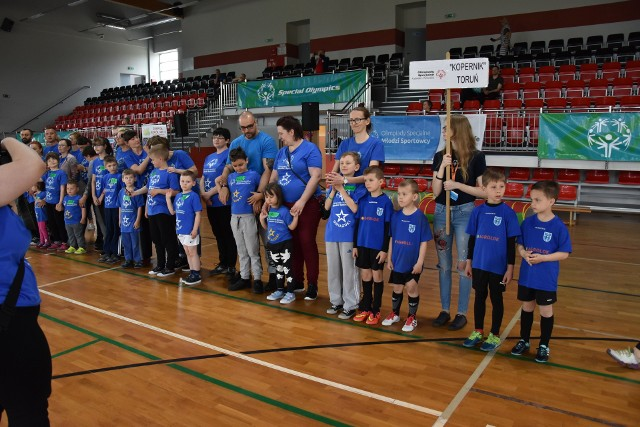 W sobotę w Golubiu-Dobrzyniu zorganizowano IV Kujawsko-Pomorski Dzień Sportowca Olimpiad Specjalnych