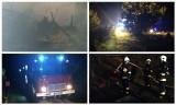 Zalesiany. Strażacy pojechali gasić dom. Ugasili kurnik (zdjęcia)