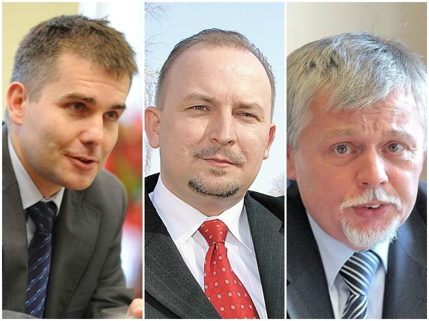 Od lewej: Tomasz Wantuła, Robert Węgrzyn, Wiesław Fąfara