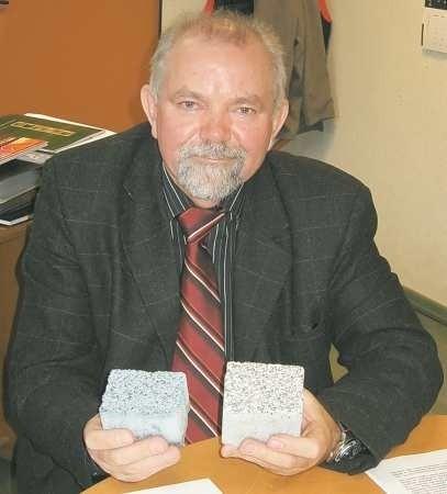 Kostkę granit lubuski wyróżnia szorstka, ale równa powierzchnia